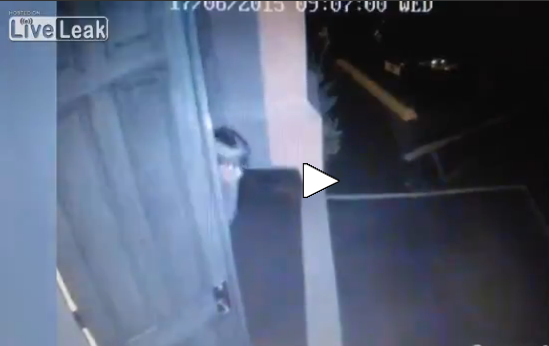 The Newly Released Video Of Dylann Roof Leaving Church With Gun Is Chilling, Ghostlike