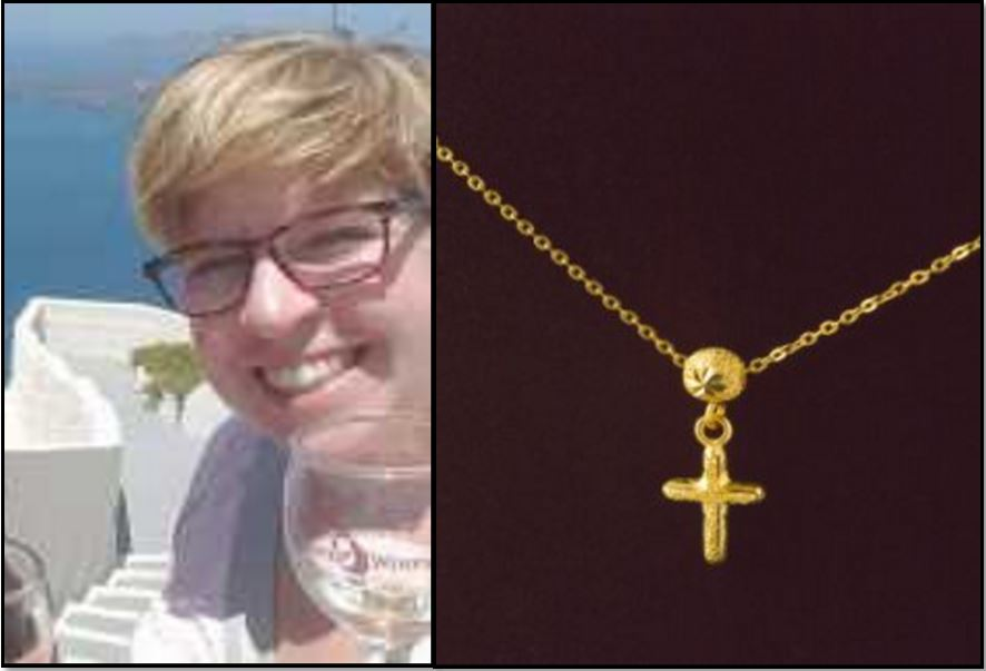 LGBT activist Lora Jane Riedas ban three student on wearing cross necklace