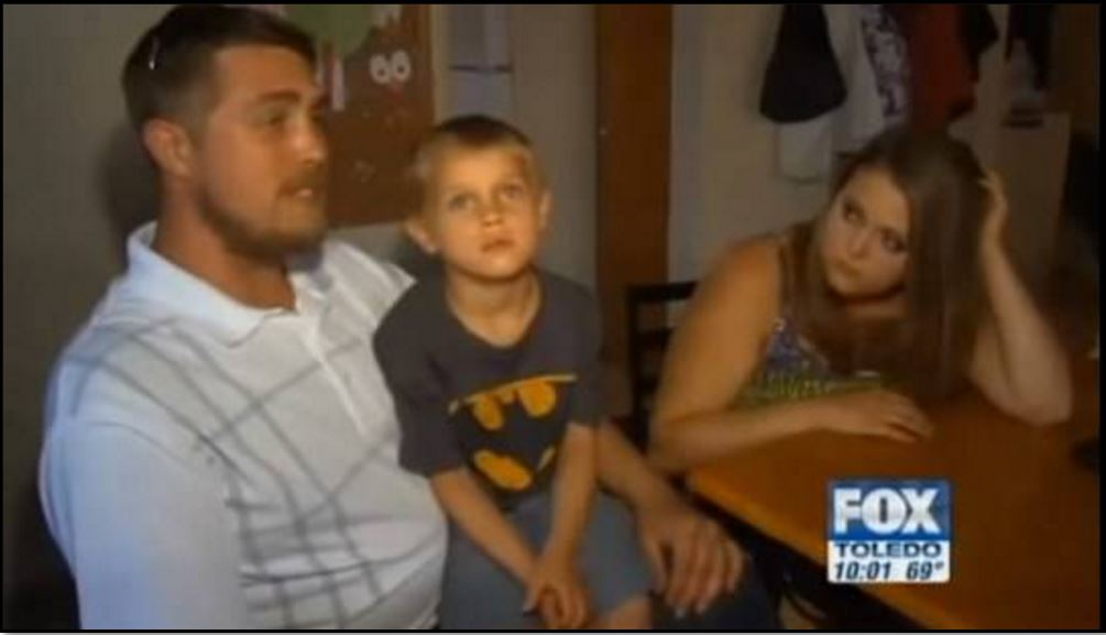 Anthony and Autumn Nelson and their son Ian