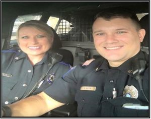 At first glance, it seems pretty simple. The photo is of the couple on Thanksgiving Day on duty instead of with their family